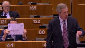 Farage in Brussels, 1 2 17
