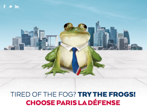 Tired of the fog? Try the frogs!